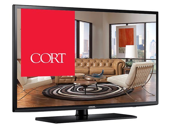 "Rent the 50"" Smart 4K UHD LED HDTV"