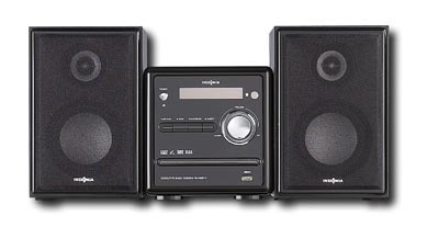 Rent the Shelf Stereo System with iPod Dock
