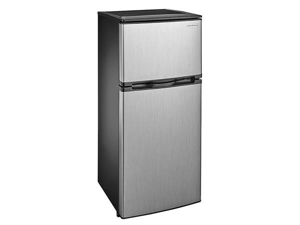 Rent the 4.3 Cu Ft. Refrigerator - Stainless Steel