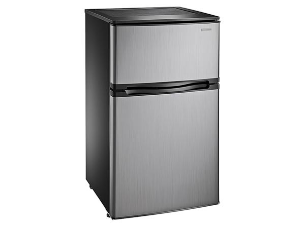 Rent the Stainless Compact Refrigerator - 3.0 Cubic FT