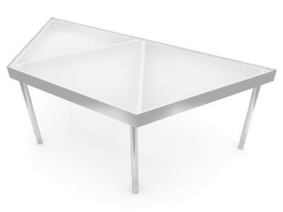 Half Hex Table