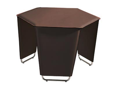 Rent the Movado Table - Brown
