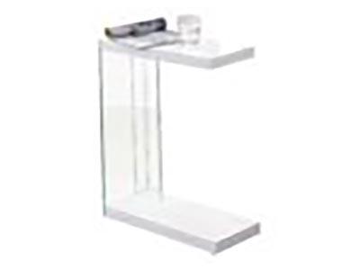 Elaina White End Table