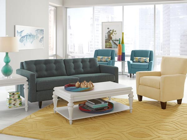 Rent the Bianca End Table