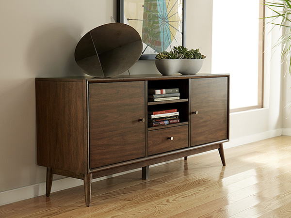 Rent the Hendrick Dark TV Stand