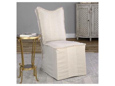 Lenore Slipcover Side Chair