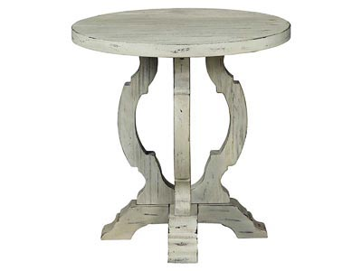 Orchard Park White Accent Table