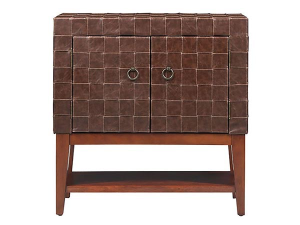 Rent the Woven Leather Chest