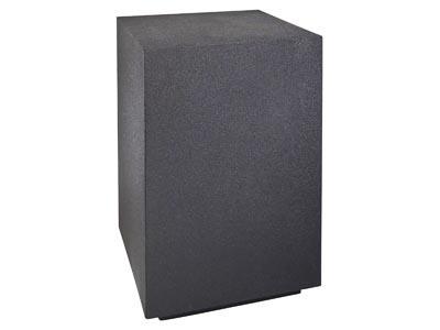 Molded Black Pedestal