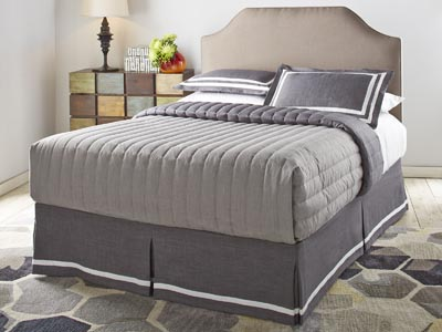 Rent the Bordeaux King Headboard