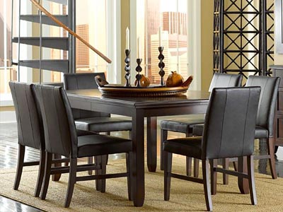 Rent the Colfax Rectangle Dining Table