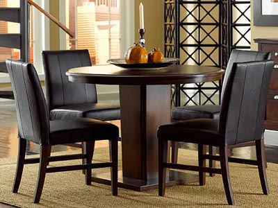 Rent the Colfax Round Dining Table