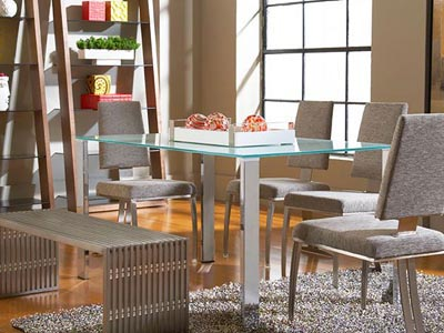 Rent the Slim Rectangle Dining Table