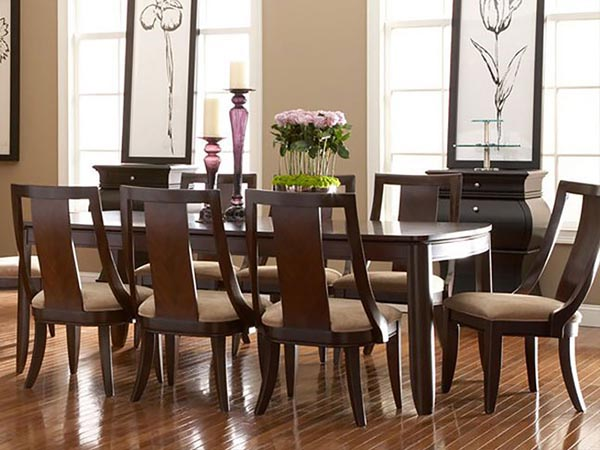 Rent The Boulevard Rectangle Dining Table Cort Furniture Rental