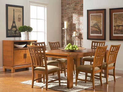 Rent the Bainbridge Rectangle Dining Table