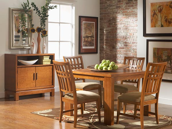 Rent the Bainbridge Square Dining Table
