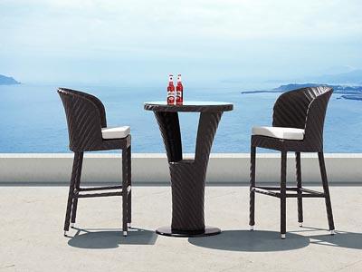 Zanzibar Outdoor Bar Table