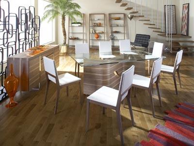 Rent the Dakota Rectangle Dining Table