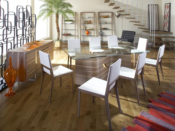 Rent the Dakota Rectangle Dining Table