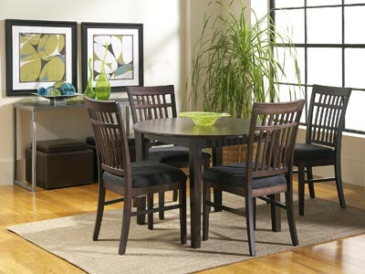Rent the Dakota Skyline Round Dining Table