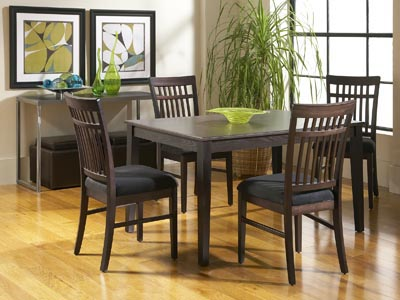 Rent the Dakota Skyline Rectangle Dining Table