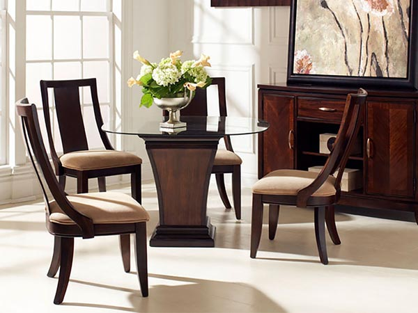 Rent the Boulevard Single Pedestal Dining Table