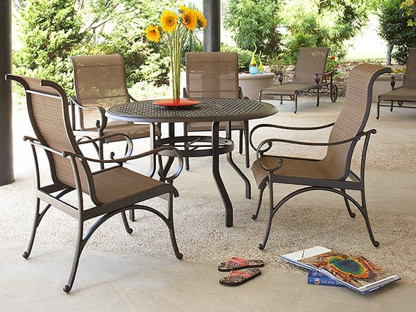 Rent the Santa Barbara Outdoor Dining Table