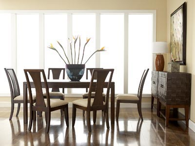 Rent the Madden Rectangle Dining Table