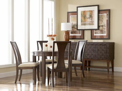 Rent the Madden Round Dining Table