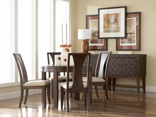 Rent The Madden Round Dining Table Cort Furniture Rental