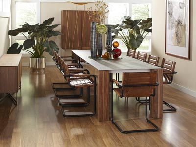 Rent the Thin Rectangle Extension Dining Table
