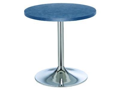 "30"" Brushed Blue Cafe Table"