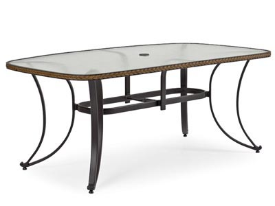 Boat Shape - Empire Outdoor Dining Table