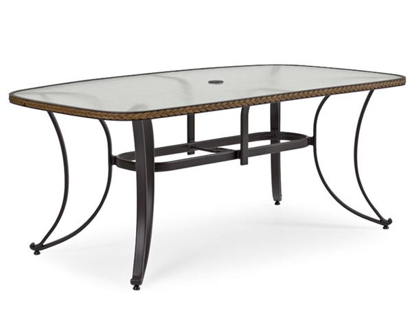 Rent the Empire Outdoor Dining Table - Boat Shape