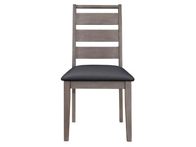 Woodrow Weathered Oak Dining Chair