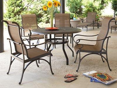 Rent the Santa Barbara Outdoor Dining Chair