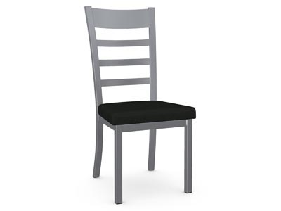 Owen II Silver/Black Dining Chair