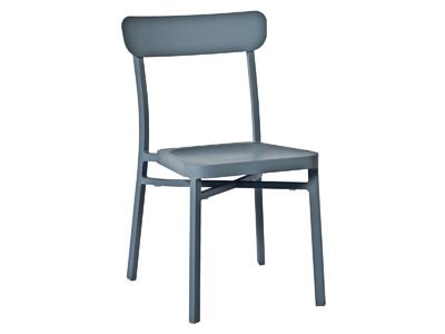 Rent the Boardwalk Smoke Blue Chair