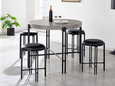 Morgan Round Counter Height Dining Table