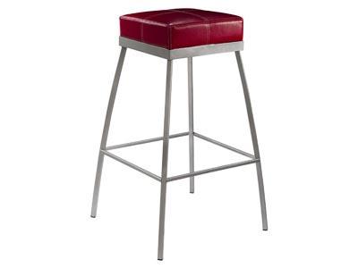 Apex Bar Stool, Red