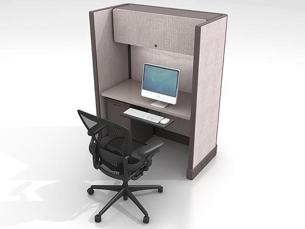 Rent the Herman Miller AO2 4x2 Work Station #1