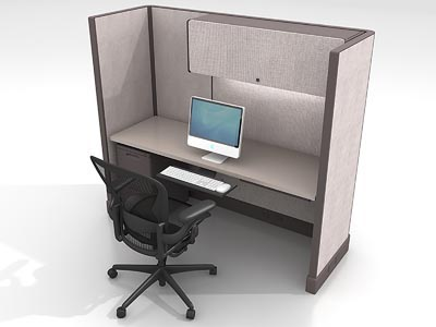 Rent the Herman Miller AO2 6x2 Work Station #2