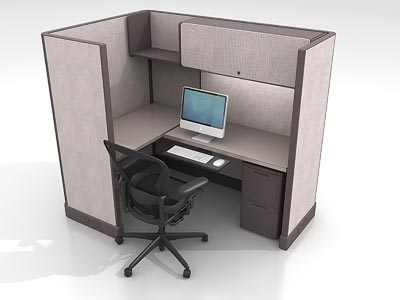 Rent the Herman Miller AO2 6x4 Work Station #5