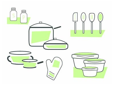Rent the Value Stovetop Kitchen Package