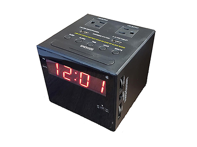 Rent the iHome Bluetooth Alarm Clock Radio