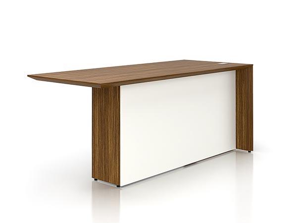 Rent The Nex Executive Desk No Pedestal Cort Furniture Rental
