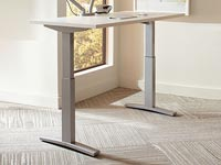 "Rent the Sit to Stand Adjustable Desk - 30"" x 60"""