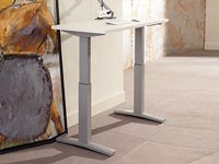 "Rent the Sit to Stand Adjustable Desk - 22"" x 48"""
