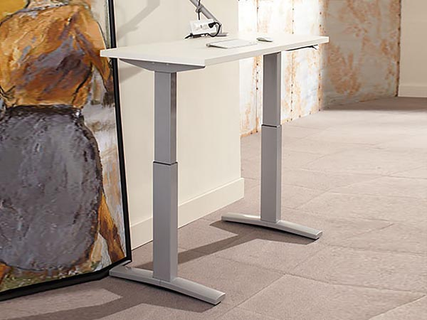 """Rent the Sit to Stand Adjustable Desk - 22"""" x 48"""""""