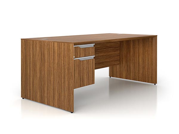 Rent the NEX Executive Desk - Left Pedestal